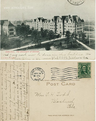 UC - Cobb Hall 1907