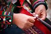 Peru-100521-078 (Kelly Cheng) Tags: travel red people woman color colour heritage tourism peru southamerica motif horizontal inca female handicraft design daylight hands women colorful day pattern market outdoor culture vivid craft unesco souvenir textile colourful persons bazaar weaving chinchero traveldestinations pickbykc