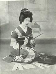 Poetry Reading (TsurukoMaiko) Tags: japan japanese kyoto maiko geiko geisha kimono giesha oiran tayuu kamuro