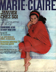 Marie Claire-January 1964 (Fashion Covers Magazines (Second)) Tags: 1964 marieclaire vintagefashion vintagemagazine 1960s marieclairemagazine 1960sfashion