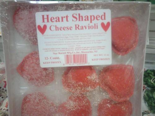 Mama Mia! Heart-shaped Ravioli!