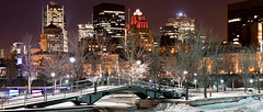 *EXPLORE* Montreal Light to the Old Port (Kvinn Photographie) Tags: voyage trip bridge winter light cold ice night cityscape montral lumire montreal hiver icerink qubec pont nuit froid vieuxport glace patinoire kvinnphotographie