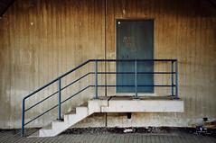 selftitled. (green magnet school) Tags: treppe blau brcke tr beton