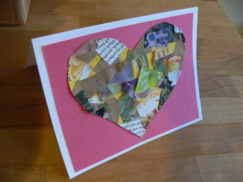 Jenny: Valentine Collage Cards