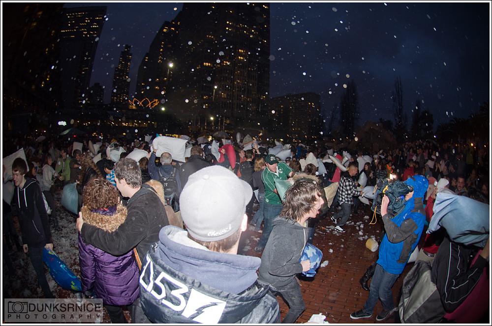 2011 San Francisco Pillow Fight.