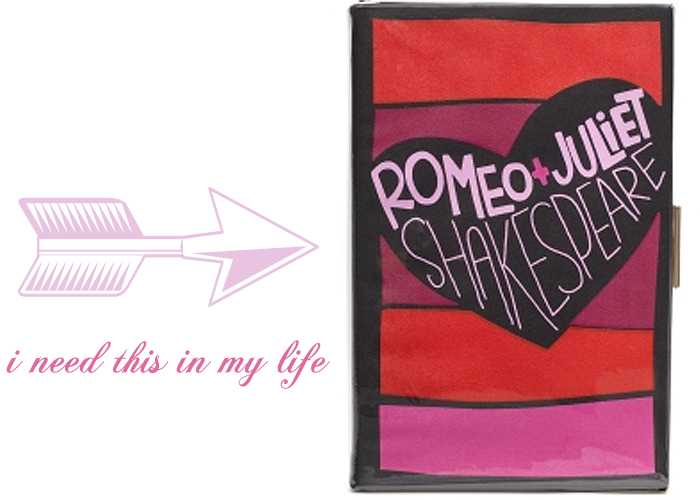 romeo and juliet clutch