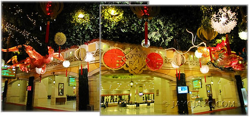 2011 Chinese New Year's decor at main entrance of First World Hotel, Genting Highlands