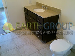 wilmette-bathroom-remodeling_06 (Earthgroup Construction) Tags: green tile bathroom bath board jacuzzi installation bathtub framing remodeling greenboard
