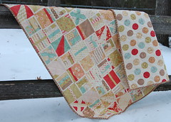 Uptown Girl (skburton designs) Tags: whimsy babyquilt figtreequilts