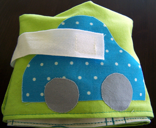 Car Caddy in Organic Fabric