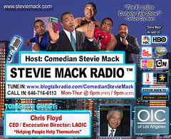 STEVIE MACK RADIO™ -  Chris Floyd: CEO/Exc. Dir. LAOIC
