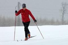 Běžecké lyžování - technika a mazání jde ruku v ruce