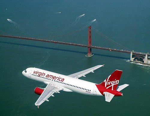 Virgin America, San Francisco