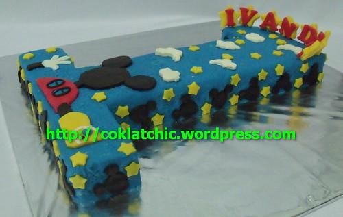 Semua kue berpelapis coklat bukan fondant atau sugar icing, harga bisa ...