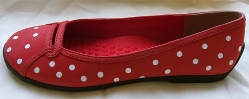 ebayed: Red Polka Dot Privo by Clarks