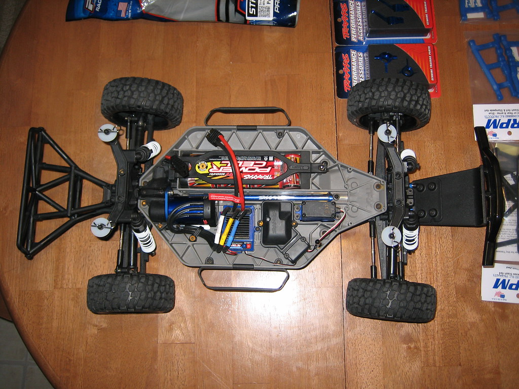 Slash 4x4 Rc Greg Adler Edition Tipos De Cancer Traxxas 1 10 Scale Brushless Short Course Truck 6808l The Before