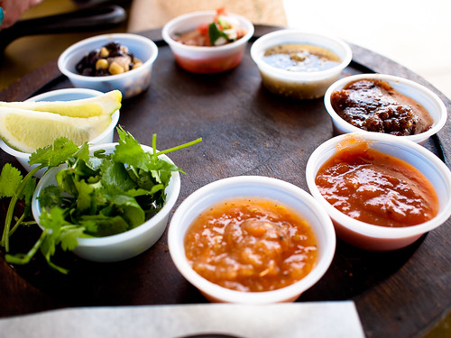 Salsa Sample Platter - Lime Fresh Mexican Grill