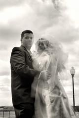 B&W ND Portrait (Bushido Photo) Tags: wedding portrait blackandwhite nikon jessica nd singhray longexposureportrait d700 105dc f2bw bushidophoto ndtrio