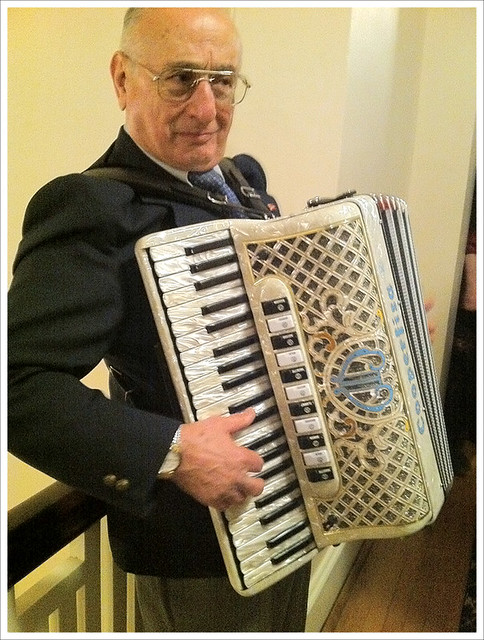 Winter Opera Accordionist