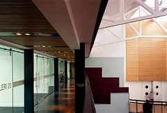 Atrium Office Walkway