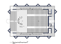 Third Floor Plan Auditorium Layout - Chamber Music Recital