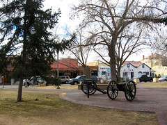 Canons in the Plaza (Visual Images1 (Thanks for over 5 million views)) Tags: newmexico picnik