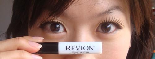 Revlon lash adhesive, fake eyelashes