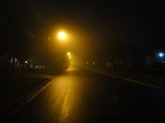(Jeepoid) Tags: road street mist misty fog night evening streetlamp foggy neighborhood lamppost suburb residential neighbourhood sidwalk steetlight residentialarea