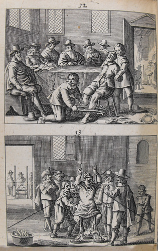 Woodcuts from page 330 of Tafgerukt mom-aansight der tooverye