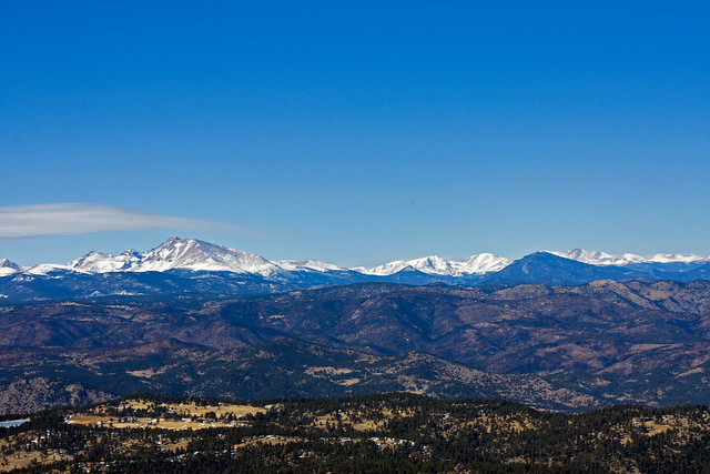 Longs Peak in the Distance