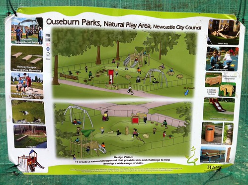 Jesmond dene children's play area plans