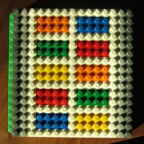 Matt's Lego Quilt Design