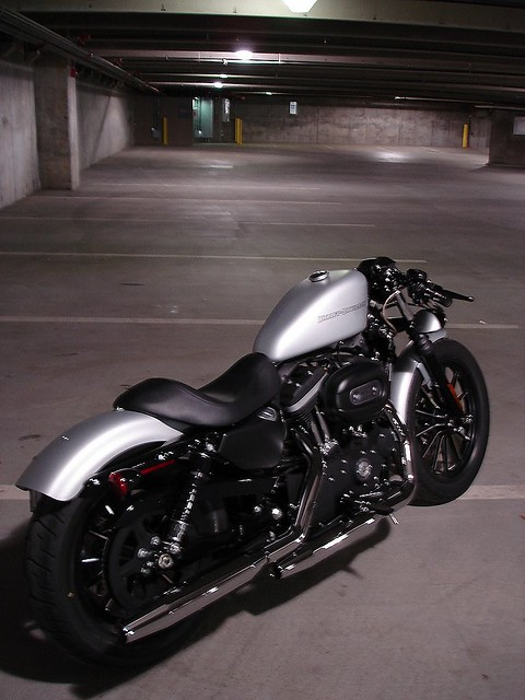 Iron 883 With Rsd Clip Ons Harley Davidson Forums