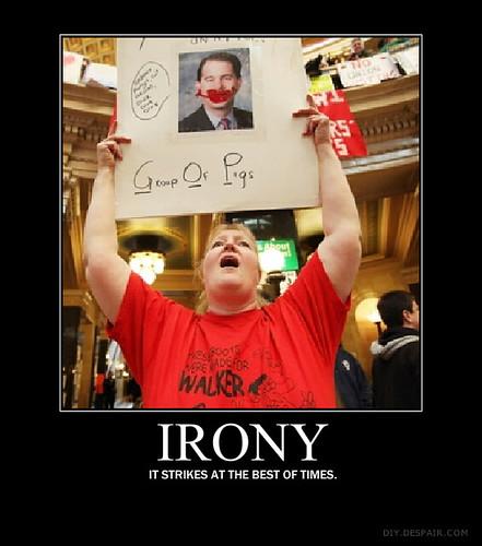 ironyposter