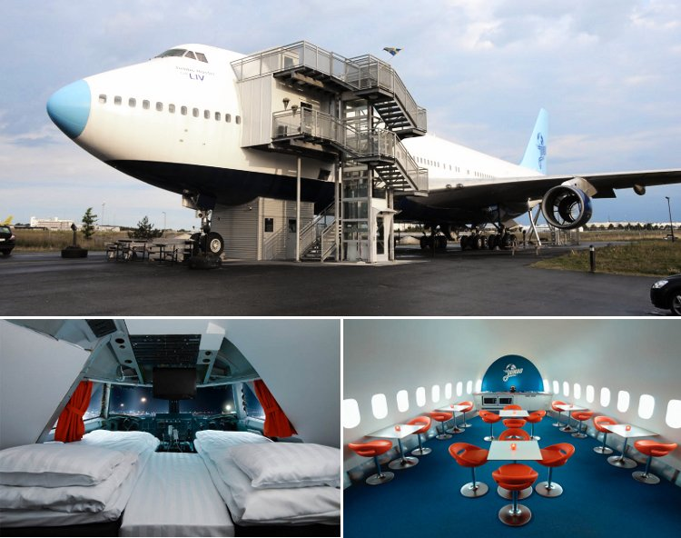 7 Fantastic Uses for a Retired Airplane