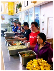 Helping at the Mustard Seed