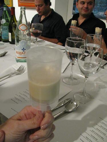 malted milk custard