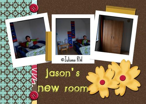 Jason's new bedroom