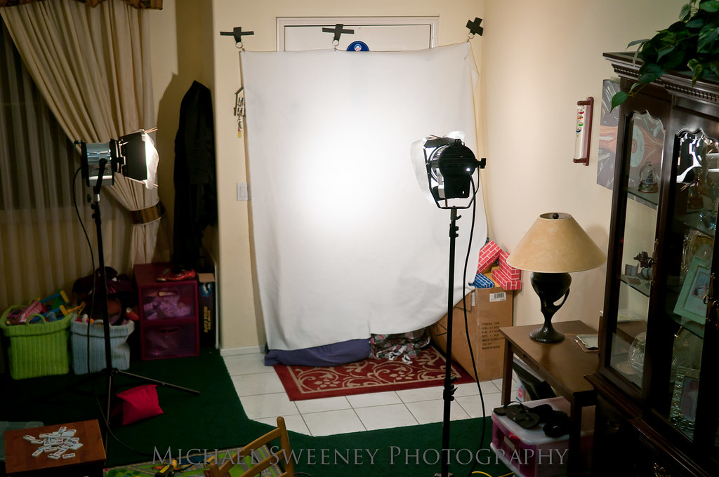 "My ""Studio"" for the vintage shots"