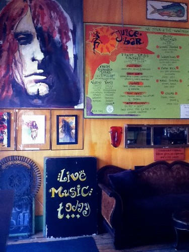 Tiger Lily Cafe: Art and Juice Menu