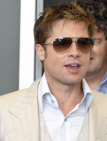 Brad Pitt's Ray Ban sunglasses. At the mention of sunglasses, ...