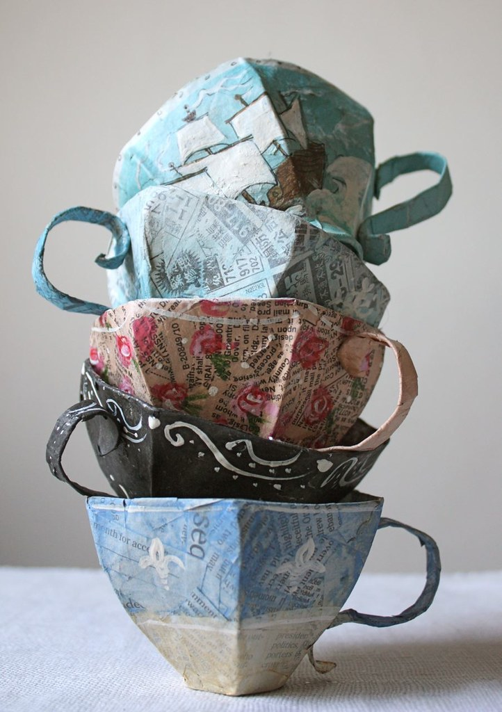Чашка для чая своими руками
