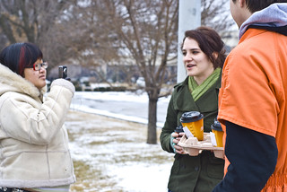 Anti-Torture Vigil - Week 38: Coffee Girl