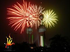 061 (Hhashmi) Tags: fireworks 5 towers celebration stunning kuwait 20 50