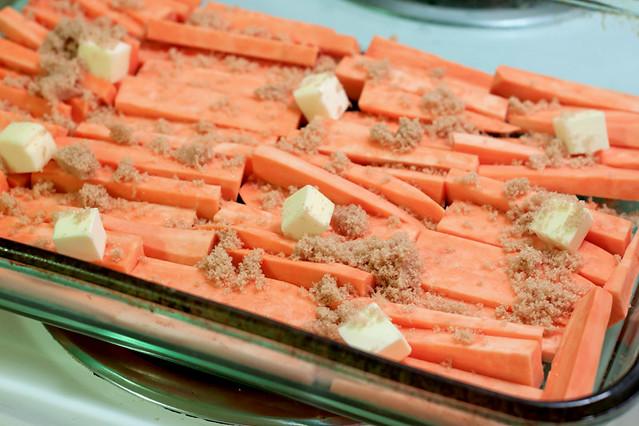 Glazed Sweet Potato Sticks