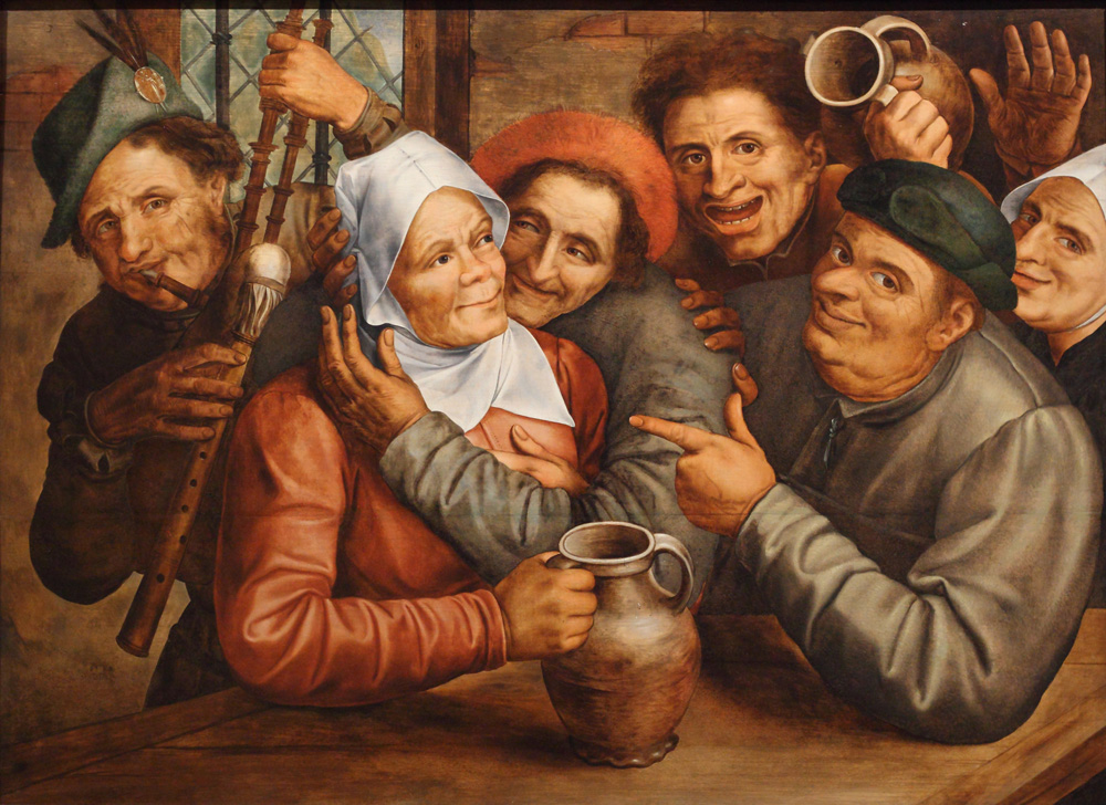 Jan Massys, Merry company, 1562