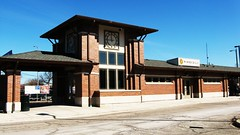 "The ""New"" Wood Dale Illinois Metra commuter rail station. Wednsday, March 2nd, 2011. by Eddie from Chicago"