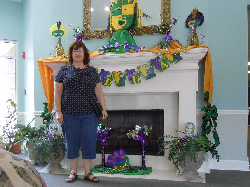 Year 5~Day 91 +62/365 AND Day 1552: March Decorations at the Senior Center