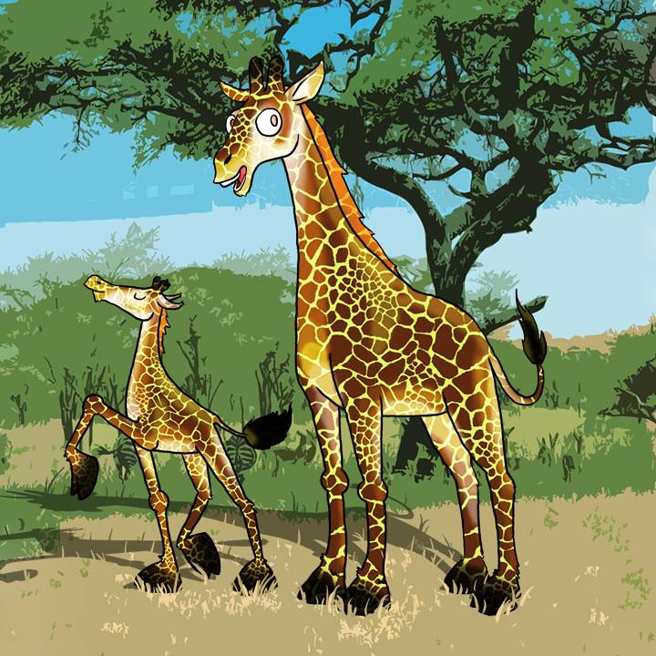"""porter""""s giraffes"""