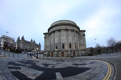 Saint Georges Hall (tofu_catgirl) Tags: city uk travel england history museum liverpool buildings hall visit tourist fisheye tokina gb empiretheatre 1017mm saintgeorgeshall club16 greatgeorgeshall